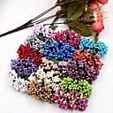رخيصةأون أزهار اصطناعية-زهور اصطناعية 12 فرع الزفاف نباتات أزهار الطاولة