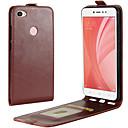Case Xiaomi Xiaomi Redmi Note 5A / Redmi 5A / Xiaomi Redmi 4 Card Holder / Flip Full Body Cases Solid Colored Hard PU Leather