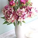 povoljno Umjetno cvijeće-Umjetna Cvijeće 1 Podružnica Europska Peonies Cvjeće za stol