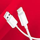 povoljno Pravi bežični uš-Rasvjeta Kabeli / Kabel 1m-1.99m / 3ft-6ft Normal TPU USB kabelski adapter Za iPad / Apple iPad / Apple