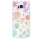voordelige Galaxy S7 Hoesjes / covers-hoesje Voor Samsung Galaxy S8 Plus / S8 / S7 edge Patroon Achterkant Tegel / Marmer Zacht TPU