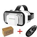 رخيصةأون شواحن-vr shinecon 5.0 نظارات الواقع الافتراضي نظارات 3D ل 4.7 - 6.0 بوصة الهاتف مع وحدة تحكم