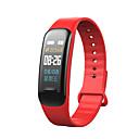 povoljno Pametni satovi-C1 PLUS za iOS / Android Heart Rate Monitor / Mjerenje krvnog tlaka / Informacija / Upravljanje kamerom / APP kontrola Brojač koraka / Podsjetnik za pozive / Mjerač sna / sjedeći Podsjetnik / Pronađi