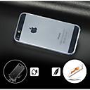povoljno iPhone maske-Θήκη Za iPhone 5 / Apple iPhone 5 Prozirno Stražnja maska Jednobojni Tvrdo PC