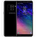 Screen Protector Samsung Galaxy A8 2018 Tempered Glass / PET 1 pc Front Screen Protector / Front & Back & Camera Lens Protector High Definition (HD) / 9H Hardness / Explosion Proof