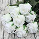 رخيصةأون أطقم المجوهرات-زهور اصطناعية 1 فرع النمط الرعوي الورود أزهار الطاولة