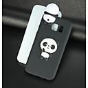 halpa Galaxy S -sarjan kotelot / kuoret-Etui Käyttötarkoitus Samsung Galaxy S8 Plus / S8 / S7 edge Kuvio / DIY Takakuori 3D sarjakuva / Panda Pehmeä TPU