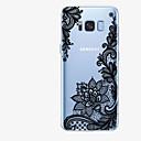 رخيصةأون حافظات / جرابات هواتف جالكسي J-غطاء من أجل Samsung Galaxy S8 Plus / S8 / S7 edge نموذج غطاء خلفي الطباعة الدانتيل ناعم TPU