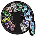 ieftine Artă Ștrasuri Colorate-Glitter de unghii Modă Calitate superioară Zilnic Bijuterii