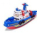 povoljno Modeli i autići-Igračke brodovi Brod Plaža Teme Sjajno LED svjetla aktivirana zvukom Pjevanje ABS Dječji Dječaci Djevojčice Igračke za kućne ljubimce Poklon 1 pcs