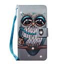 povoljno iPhone maske-Θήκη Za Samsung Galaxy S7 edge / S7 / S6 edge Novčanik / Utor za kartice / Štras Korice Sova Tvrdo PU koža