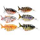 ieftine Momeală Pescuit-1 pcs Δόλωμα Momeală Dură Jerkbaits Plevușcă Ştiucă Plutire Scufundare Bass Păstrăv Ştiucă Pescuit mare Aruncare Momeală Pescuit la Copcă ABS / Filare / Pescuit la Oscilantă / Pescuit de Apă Dulce