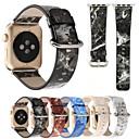 رخيصةأون أساور ساعات هواتف أبل-حزام إلى Apple Watch Series 4/3/2/1 Apple بكلة عصرية جلد طبيعي شريط المعصم