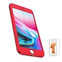 رخيصةأون أغطية أيفون-غطاء من أجل Apple iPhone 8 Plus / iPhone 8 / iPhone 7 Plus مثلج غطاء كامل للجسم لون سادة ناعم TPU