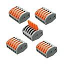 رخيصةأون ديكورات خشب-ZDM® 5pcs قطاع الخفيفة التبعي بلاستيك موصل كهربائي