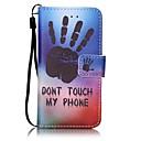 رخيصةأون Huawei أغطية / كفرات-غطاء من أجل iTouch 5/6 محفظة / حامل البطاقات / مع حامل غطاء كامل للجسم قاسي