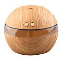 olcso párásítók-yk30 mini hordozható ködkészítő aroma illóolaj diffúzor ultrahangos aroma párásító fény fából készült usb diffúzor