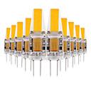 ieftine Becuri LED Bi-pin-ywxlight® 10pcs g4 3w cob 200-300lm led bi-pini luminii cald alb rece rece alb natural alb condus lampa de porumb lampa candelabru 12v 12-24v