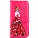Case Xiaomi Xiaomi Redmi Note 5A / Xiaomi Redmi Note 4 / Xiaomi Redmi 4A Wallet / Card Holder / Stand Full Body Cases Sexy Lady Hard PU Leather