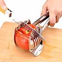 رخيصةأون أدوات & أجهزة المطبخ-الفولاذ المقاوم للصدأ الطماطم القطاعة البصل الجير حامل قطع البطاطس والفاكهة والليمون قطع