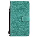 رخيصةأون Huawei أغطية / كفرات-غطاء من أجل Huawei P10 Lite / P10 / P8 Lite (2017) محفظة / حامل البطاقات / مع حامل غطاء كامل للجسم لون سادة قاسي جلد PU