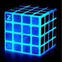 ieftine Cuburi Magice-Magic Cube IQ Cube z-cube Stone Cube Lumină strălucitoare Cube 4*4*4 Cub Viteză lină Cuburi Magice Alină Stresul puzzle cub Profesional Stres și anxietate relief Birouri pentru birou Temă Clasică