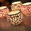 cheap Candles & Candleholders-Simple Style / Modern / Contemporary Glass Candle Holders 1pc, Candle / Candle Holder