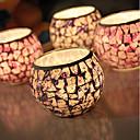رخيصةأون Home Fragrances-أسلوب بسيط / الحديثة / المعاصرة زجاج Candle Holders 1PC, شمعة / حامل شمعة