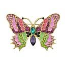 povoljno Broševi-Žene Broševi Rukav leptir dame Jednostavan Osnovni Broš Jewelry Zlato Za Dnevno Nova Godina