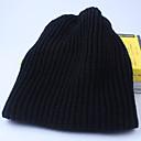 povoljno Muški šeširi-Muškarci Jednobojni Zabava Aktivan Akril-Šešir širokog oboda Jesen Zima Lila-roza Žutomrk Svijetlosiva