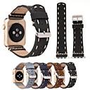 povoljno Ukrasne naljepnice-Pogledajte Band za Apple Watch Series 5/4/3/2/1 Apple Kožni remen Prava koža Traka za ruku