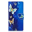 رخيصةأون Sony أغطية / كفرات-غطاء من أجل Sony Xperia XA2 Ultra / Xperia XA2 / Xperia XZ1 Compact محفظة / حامل البطاقات / مع حامل غطاء كامل للجسم فراشة قاسي جلد PU