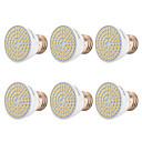 povoljno Testeri i detektori-YWXLIGHT® 6kom 7 W LED reflektori 500-700 lm E26 / E27 72 LED zrnca SMD 2835 Toplo bijelo Hladno bijelo Prirodno bijelo 220-240 V 110-130 V