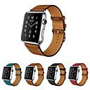 preiswerte iPhone Hüllen-Uhrenarmband für Apple Watch Series 5/4/3/2/1 Apple Lederschlaufe Echtes Leder Handschlaufe