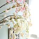 رخيصةأون أزهار اصطناعية-زهور اصطناعية 1 فرع الزفاف الطراز الأوروبي ساكورا أزهار الحائط
