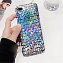 رخيصةأون أغطية أيفون-غطاء من أجل Apple iPhone X / iPhone 8 Plus / iPhone 8 نموذج غطاء خلفي بريق لماع ناعم TPU