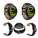 povoljno Organizatori automobila-Pogledajte Band za Gear Sport / Gear S2 Classic / Huawei Watch 2 Samsung Galaxy Klasična kopča Prava koža Traka za ruku