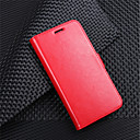رخيصةأون LG أغطية / كفرات-غطاء من أجل LG LG V30 / LG V20 MINI / LG Q6 محفظة / حامل البطاقات / قلب غطاء كامل للجسم لون سادة قاسي جلد PU