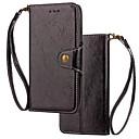 povoljno Modne ogrlice-Θήκη Za Samsung Galaxy S9 / S9 Plus / S8 Plus Novčanik / Utor za kartice / Zaokret Korice Jednobojni Tvrdo prava koža