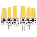 povoljno LED svjetla s dvije iglice-YWXLIGHT® 6kom 5 W LED svjetla s dvije iglice 400-500 lm G4 T 1 LED zrnca COB Ukrasno Toplo bijelo Hladno bijelo 12-24 V 12 V