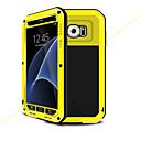 voordelige Merk Horloge-hoesje Voor Samsung Galaxy S7 Water / Dirt / Shock Proof Volledig hoesje Effen Kleur Hard Metaal