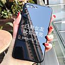 voordelige Galaxy Grand Prime Hoesjes / covers-hoesje Voor Apple iPhone X / iPhone 8 Plus / iPhone 8 Patroon Achterkant Woord / tekst Hard Gehard glas