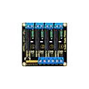 ieftine Relee-keyestudio modul de relee cu patru canale pentru arduino