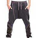 povoljno Sportske hlače-Muškarci Aktivan Dnevno Sportske hlače Hlače - Color block Proljeće Crn Tamno siva Svijetlosiva L XL XXL