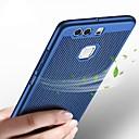 رخيصةأون Huawei أغطية / كفرات-غطاء من أجل Huawei P10 Plus / P10 Lite / P10 نحيف جداً غطاء خلفي لون سادة قاسي بلاستيك
