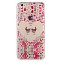 voordelige iPhone-hoesjes-hoesje Voor Apple iPhone 8 Plus / iPhone 8 / iPhone 7 Plus Patroon Achterkant Hart / dier / Bloem Zacht TPU