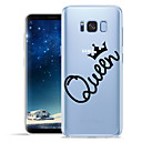 voordelige Galaxy S6 Edge Plus Hoesjes / covers-hoesje Voor Samsung Galaxy S8 Plus / S8 / S7 edge Patroon Achterkant Woord / tekst Zacht TPU