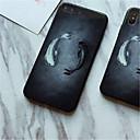 povoljno iPhone maske-Θήκη Za Apple iPhone X / iPhone 8 Plus / iPhone 8 Uzorak Stražnja maska Životinja Tvrdo Kaljeno staklo