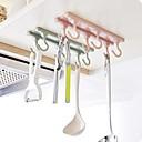 رخيصةأون المكياج & العناية بالأظافر-1SET الرفوف وشمعدانات البلاستيك المطبخ الإبداعية أداة