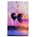 رخيصةأون Huawei أغطية / كفرات-غطاء من أجل Amazon Kindle Fire hd 8(6th Generation, 2016 Release) حامل البطاقات / ضد الصدمات / مع حامل غطاء كامل للجسم Balloon قاسي جلد PU